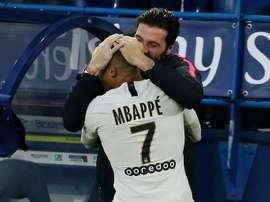 Mbappé ricorda gli addii più dolorosi. AFP