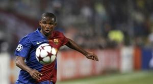 Samuel Eto'o de retour sur les terrains ? AFP