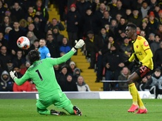 African players in Europe: Sarr sparkles as Watford stun Liverpool. AFP
