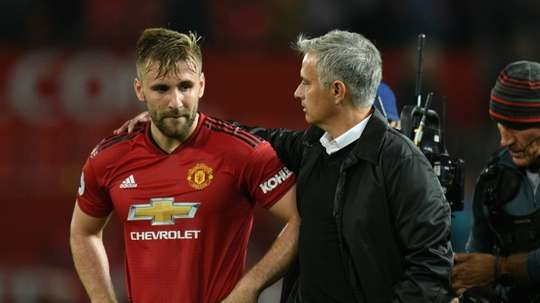 Mourinho is keen to tie Shaw down to a new deal. AFP