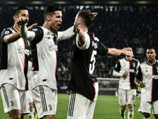 Ronaldo and Pjanic both got on the scoresheet in Juve's win over Bologna. AFP
