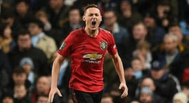 Matic quer continuar no Manchester United. AFP