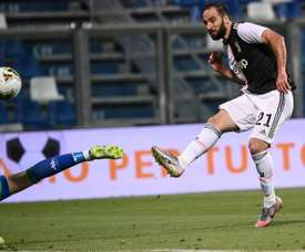 Gonzalo Higuain is in Florida to complete move to Inter Miami. AFP