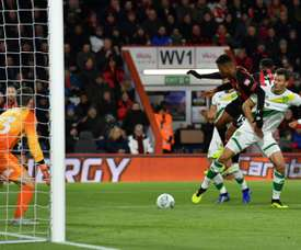 Junior Stanislas opened the scoring for Bournemouth. AFP