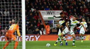 El Bournemouth venció en la Copa. AFP