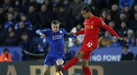Matip is pleased to be back in action. AFP