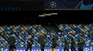 Vidal spearheads Barca attack alongside Messi, Griezmann. AFP