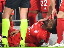 Coman expected back in January for Bayern despite knee injury. AFP