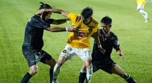 The two-week season: coronavirus shrinks Philippines football league. AFP