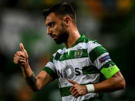 Accord total entre United et Sporting pour Bruno Fernandes. AFP
