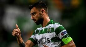 Accord total entre United et Sporting pour Bruno Fernandes. AFP