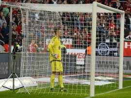Leno habría rechazado al Nápoles con la vista puesta en un futuro en el Atlético. AFP