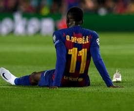 Dembélé aurait recalé Manchester United. AFP