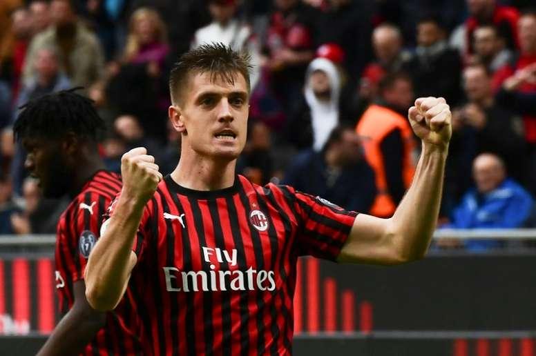 Piatek fue la revelación goleadora de la Serie A la anterior campaña. AFP