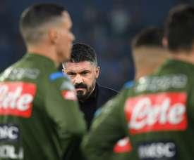 I convocati del Napoli. AFP