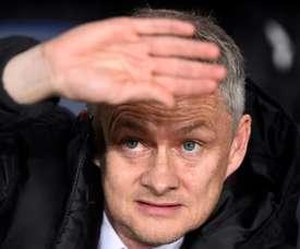 O United foi goleado por um Everton que já não tem nada a disputar. AFP