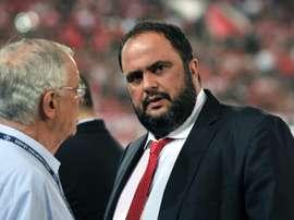 Le propriétaire de l'Olympiakos et Nottingham Forest, infecté par le coronavirus. AFP