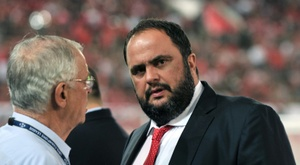 Marinakis furiously denies the charges. AFP