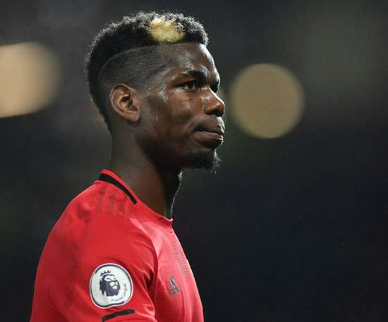 Raiola, the only one who wants Pogba to leave United. AFP