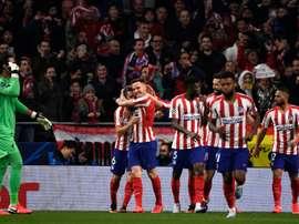 Atlético won 1-0. AFP
