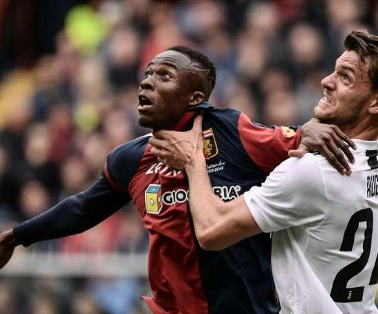 Paratici ofrece a Rugani al Barça. AFP