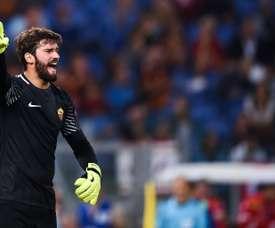 Alisson sait comment neutraliser l'Atlético. AFP