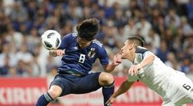 Minamino n'intéresse pas Manchester United. AFP