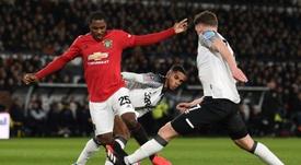 El United pasó de ronda en la FA Cup. AFP