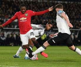 United won 3-0. AFP