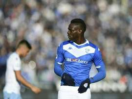 Balotelli weighs 100 kilos. AFP