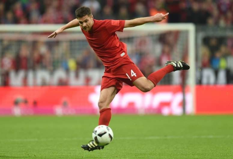 Xabi could possibly leave the club in 2017. AFP