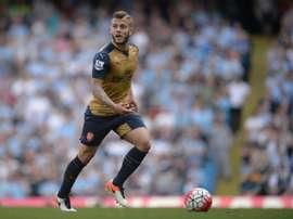 Wilshere, uno de los tres jugadores que podría tener las horas contadas en el Arsenal. AFP