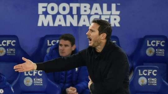 Under-pressure Lampard ignoring talk over his Chelsea future. AFP
