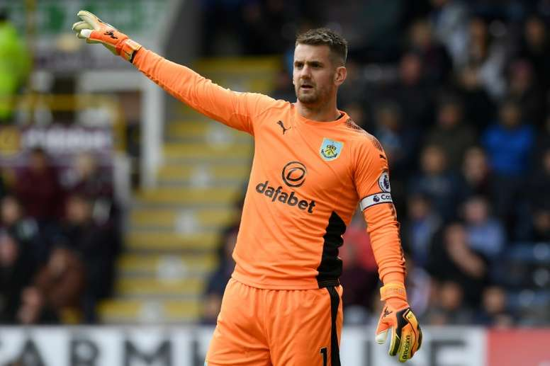Heaton admits he may have to seek a January move away from Burnley. AFP