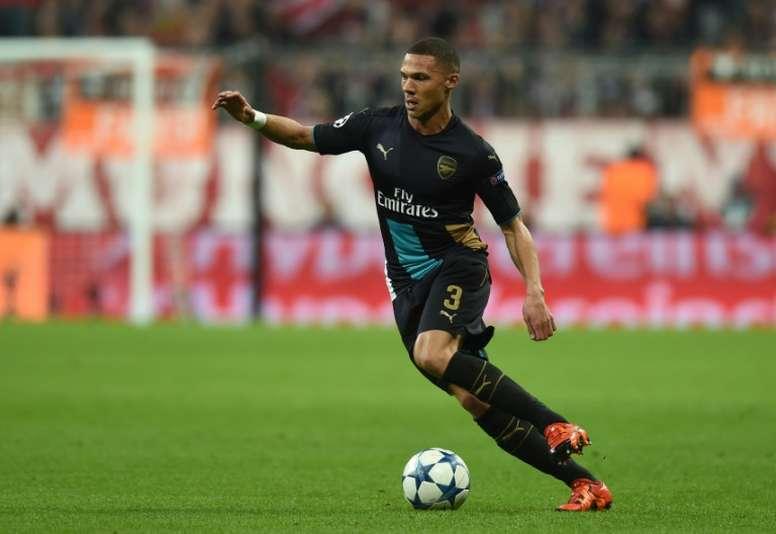 El Arsenal no llegó a ofrecer una renovación a Gibbs. AFP
