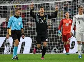 L'Argentine pourrait perdre Alario sur blessure. AFP