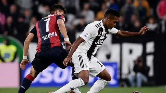 Alex Sandro a besoin de concurrence à la Juve. AFP
