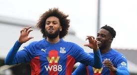 Crystal Palace won 2-1. AFP