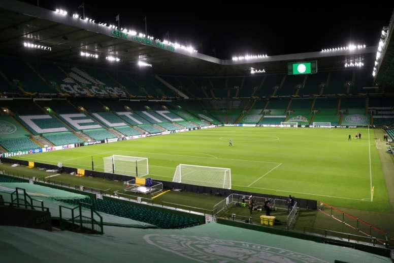 Celtic without 13 isolating players after controversial Dubai trip. AFP