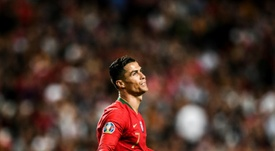 Cristiano Ronaldo não poderá atuar na partida deste sábado. AFP