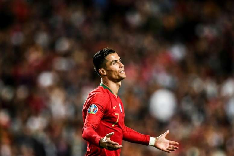 Cristiano Ronaldo has scored 85 goals in 155 appearances for Portugal. AFP