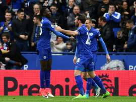 Ndidi was the man to get Leicester their point. AFP