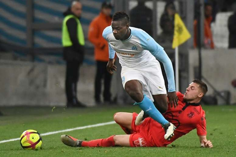 Fenerbahçe s'intéresse à la situation de Balotelli. AFP