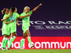 Wolfsburg edge Barcelona to reach Women's Champions League final. AFP