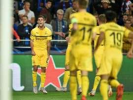 Pulisic pourrait rejoindre Chelsea. AFP