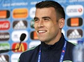 Coleman has hit back at criticism of Ireland boss Martin O'Neill. AFP