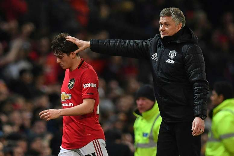 James says United must improve. AFP