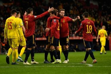 Los posibles rivales de España en la Eurocopa. AFP