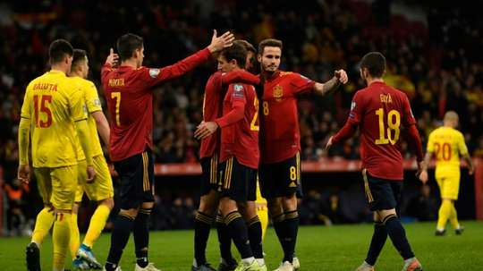 Spain have qualified. AFP