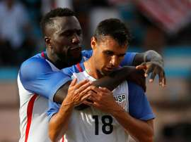 United States beat El Salvador 2-0 in the Gold Cup. AFP
